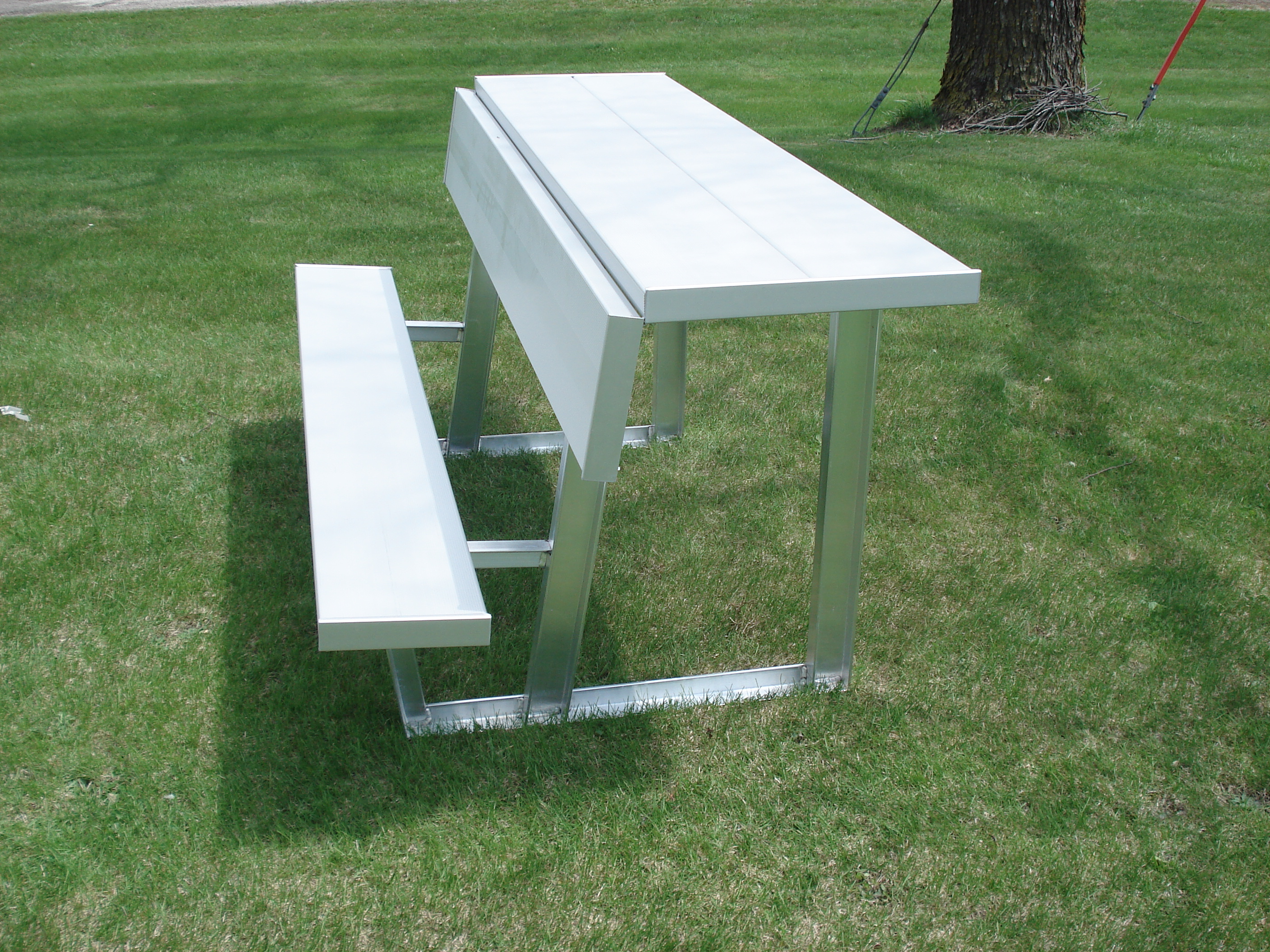 Brilliant American Aluminum Seating Inc Dugout Benches Ocoug Best Dining Table And Chair Ideas Images Ocougorg